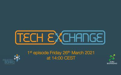 Tech Exchange Episode #1  – March 26, 2021 at 2pm CEST