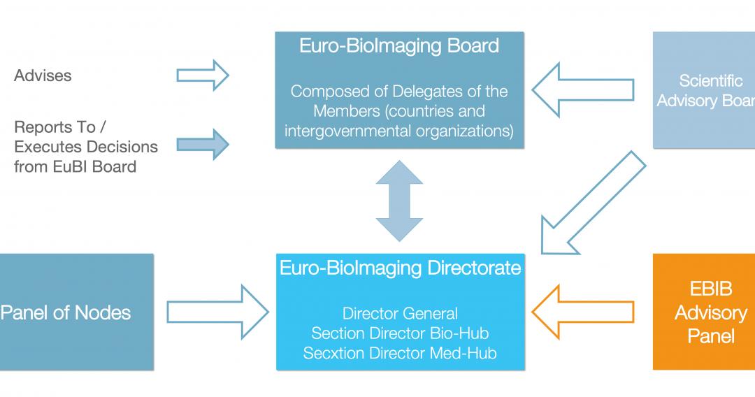 Euro-BioImaging governance structure